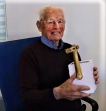 Piet Kaspers, de oudste fietser